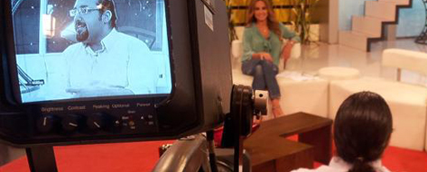 During the alive Show at MTV Lebanon